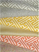 Jacquard cotton Natural fiber fabric for drapery fabric or upholstery fabric
