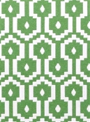 Jamboree Fern Geometric Fabric
