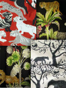 Jungle fabric prints
