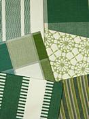 Green Laura And Kiran Fabrics