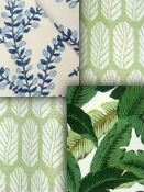 Leaf and Foliage Fabrics