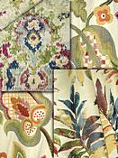 Multi Color Tapestry Fabrics