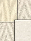 white herringbone fabric