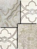 Natural Embroidered Fabrics