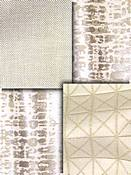 Natural Metallic Fabric