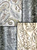 Natural Paisley Fabric
