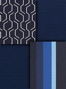 Navy Blue Sunbrella Fabric