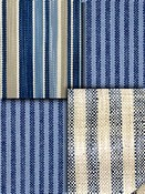 Navy Blue Stripe Fabrics