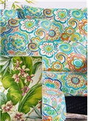 Tropical Floral Outdoor Fabric