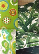Green & Citrus Outdoor Fabrics