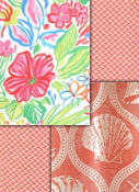 Coral outdoor fabrics