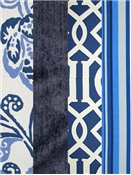 Navy Blue Outdoor Fabrics