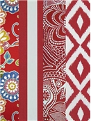 Red Outdoor Fabrics