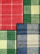 plaid and check fabric by the yard
