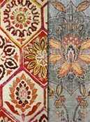 Medallion fabrics by the yard