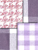 pastel Buffalo plaid Check fabric