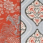 Persimmon Dwell Fabric