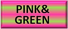 Pink and green fabric - pink fabric - green fabric