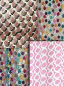 Blush Pink Small Scale Fabric