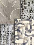 Platinum Retro Modern Fabric