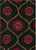 Jaclyn Smith Fabric 02096 Berry