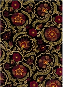 Jaclyn Smith Fabric 02097 Berry