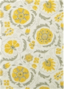 Jaclyn Smith Fabric 02097 Lemon Zest