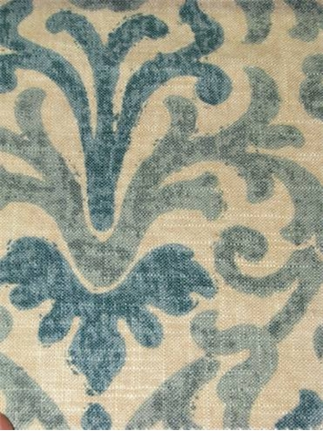 Jaclyn Smith Fabric 02098 Lagoon Linen Fabric By The