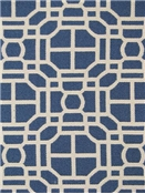 Jaclyn Smith Fabric 02602 Indigo