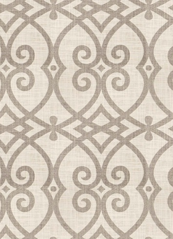 Jaclyn Smith Fabric 02616 Dove Grey Linen Fabric By The