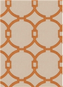 03186 Burnt Orange - Vern Yip Fabric