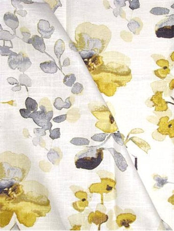 03367 Yellow Grey Vern Yip Fabric Decorator Fabric Rooms