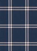 04240 Navy Plaid Vern Yip