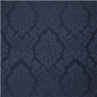 Albertine Damask Prussian Blue