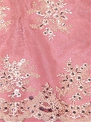 Embroidered Lace Alley Pink