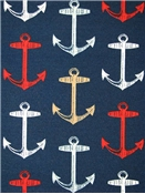 Anchor Allover Arbor Navy