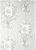 Angel Toile Silver Toile Fabric