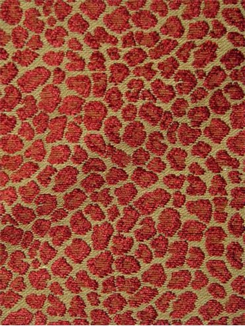 Brown Leopard Print Arel Fabric