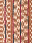 Ashanti Stripe Cinnabar Kente Cloth
