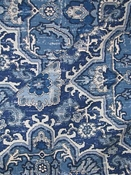 Ashleigh Midnight Blue Rug Fabric