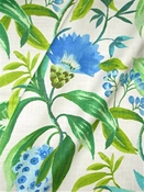Azalea 590 Cornflower Tropical Fabric