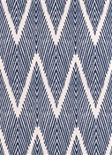 Bali Navy Lacefield Fabric