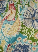 Balinese Tropics Floral Fabric