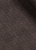 Bevel Chocolate Faux Leather