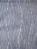 Biscayne Pewter Tribal Lattice Fabric