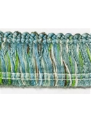 Sunbrella 2 Inch Brush Fringe Blue Green