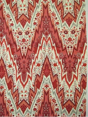 Bray Flamestitch Ladybug Waverly Fabric