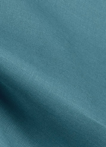 Brussels 596 Teal Linen Fabric Covington Fabric