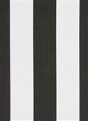 Cabana Stripe Ebony Al Fresco Fabric
