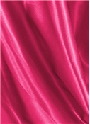 Fuschia Crepe Back Satin Fabric